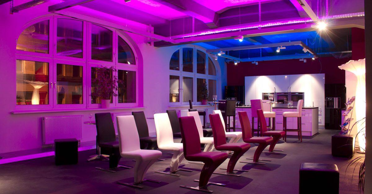 Stimmungsvolle Sky Lounge