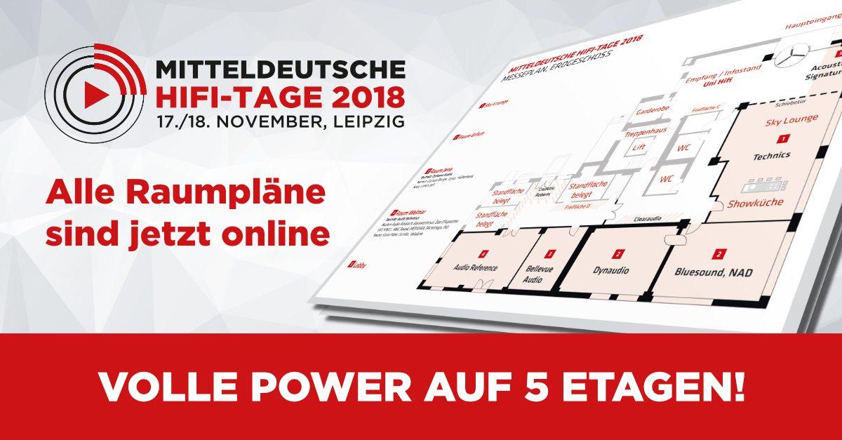 Mitteldeutsche Hifi Tage 2018 Raumpläne Online Mitteldeutsche